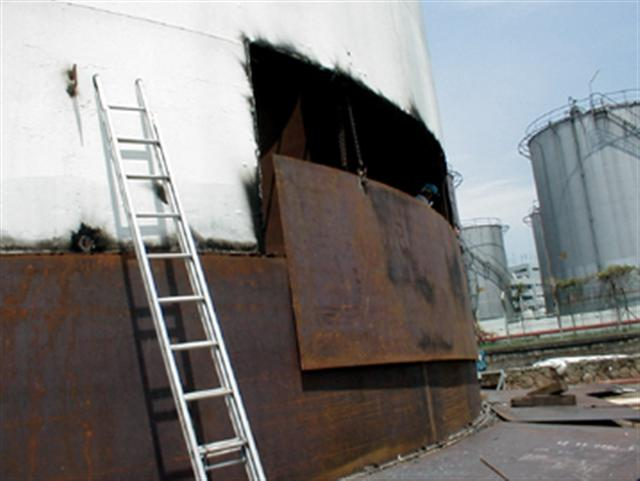 Hong Heng Iron Works Repairing Of Storage Tanks